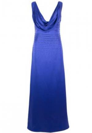 Платье FRANCESCA PICCINI. Цвет: синий