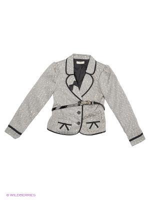Пиджак, Jemmie, цвет серый (Black) SUPERTRASH. Цвет: серый