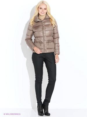 Куртка Baon. Цвет: коричневый