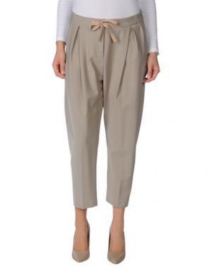 Повседневные брюки LIVIANA CONTI. Цвет: серый