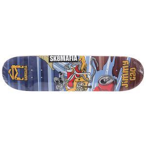 Дека для скейтборда  Cao Sk8rats Multi 32 x 8.0 (20.3 см) Sk8mafia. Цвет: мультиколор