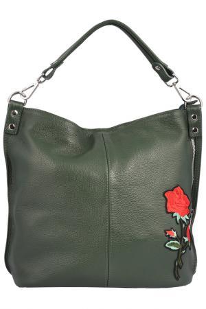 Сумка FLORENCE BAGS. Цвет: dark green