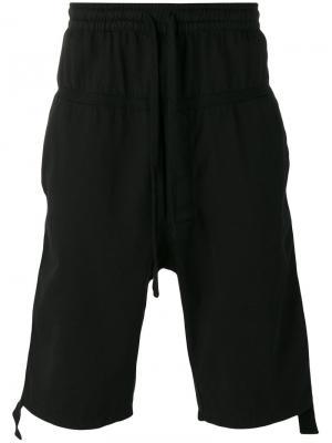 Спортивные шорты с эластичным поясом Thom Krom. Цвет: чёрный