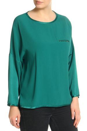 Блуза VDP CLUB. Цвет: зеленый