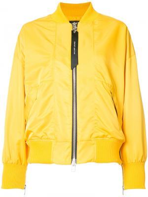 Куртка-бомбер Heroine II Daniel Patrick. Цвет: белый