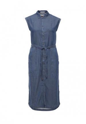 Платье джинсовое Tommy Hilfiger Denim. Цвет: синий