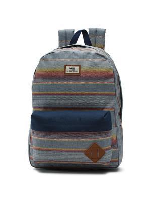 Рюкзак OLD SKOOL II VANS. Цвет: темно-синий,коричневый