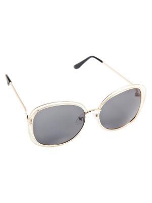 Солнцезащитные очки Kameo-bis. Цвет: золотистый, черный