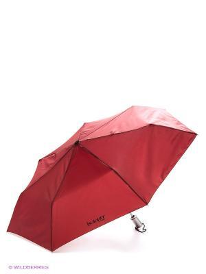 Зонт Isotoner. Цвет: малиновый