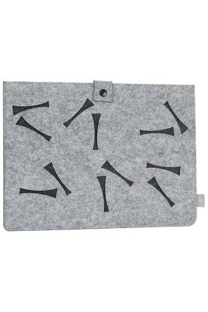 Чехол для Ipad/Tablet PC Burgmeister. Цвет: серый