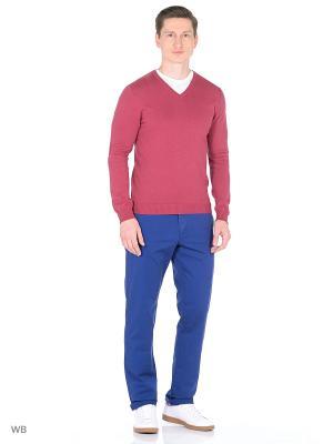 Пуловер United Colors of Benetton. Цвет: терракотовый, розовый