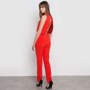 Комбинезон с брюками MADEMOISELLE R. Цвет: красный,черный