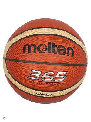 Мячи Molten. Цвет: оранжевый