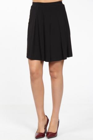 Юбка-шорты M&L Collection. Цвет: черный