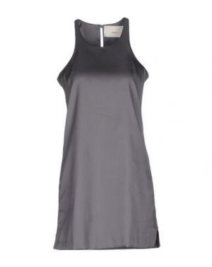 Короткое платье ..,MERCI. Цвет: серый