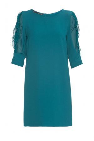 Платье из искусственного шелка 177435 Anna Rita N. Цвет: зеленый