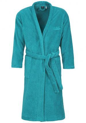 Купальный халат Otto. Цвет: зеленый