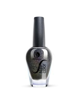 Лак для ногтей Тон NG09 Королевский венец SOLOMEYA. Цвет: антрацитовый