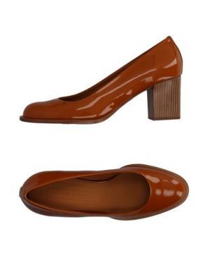 Туфли VERONIQUE BRANQUINHO. Цвет: желто-коричневый