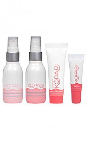 Комплект для ухода за кожей face the day Kopari. Цвет: beauty: na