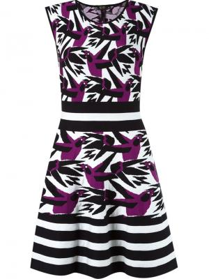 Flared knit dress Gig. Цвет: чёрный