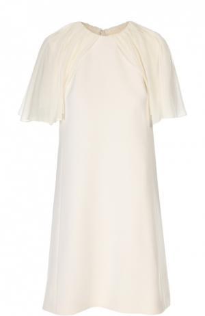 Платье Giambattista Valli. Цвет: кремовый