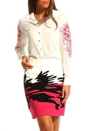 Юбка Ludomara fashion. Цвет: розовый