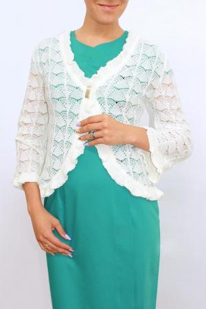 Кардиган Текстильная Мануфактура. Цвет: белый