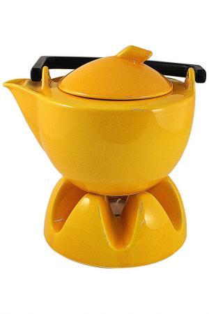 Чайник с подогревателем Waechtersbacher. Цвет: желтый
