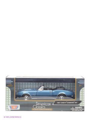 Автомобиль 1:24 1967 Chevy Camaro SS Motormax. Цвет: синий