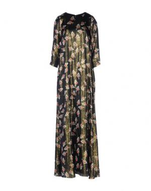 Длинное платье ALEXANDER TEREKHOV. Цвет: черный