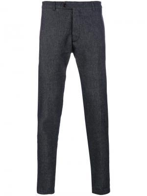 Классические брюки Al Duca D'Aosta 1902. Цвет: синий