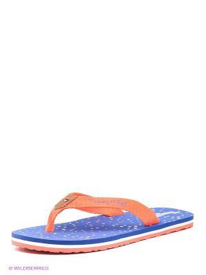 Пантолеты Tommy Hilfiger. Цвет: синий, оранжевый