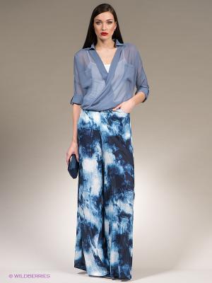 Брюки Isabel de Pedro. Цвет: темно-синий, голубой