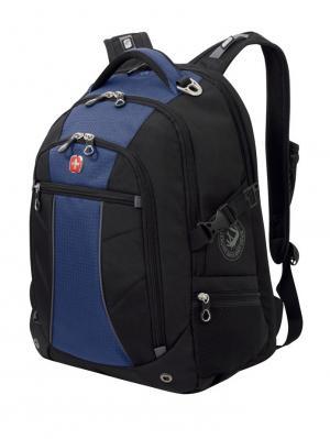 Рюкзак WENGER. Цвет: черный, синий