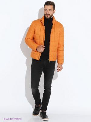 Куртка GEOX. Цвет: светло-оранжевый