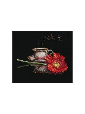 Набор для вышивания Кофе неё Сделай своими руками. Цвет: черный
