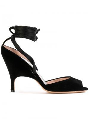 Туфли с ремешком на щиколотке Alchimia Di Ballin. Цвет: чёрный