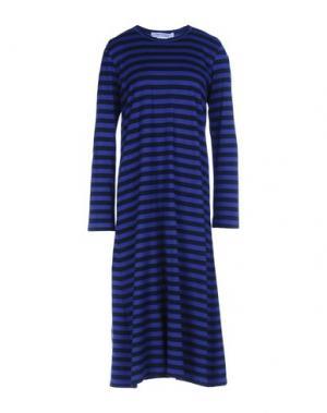 Платье длиной 3/4 COMME DES GARÇONS. Цвет: синий