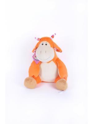 Мягкая игрушка Жирафик 5.146.1 цвет бежевый Malvina. Цвет: бежевый, персиковый