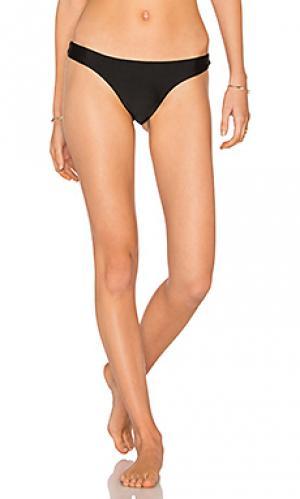 Обычные сплошные плавки бикини Vix Swimwear. Цвет: черный