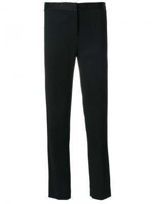 Классические брюки узкого кроя Versace. Цвет: чёрный