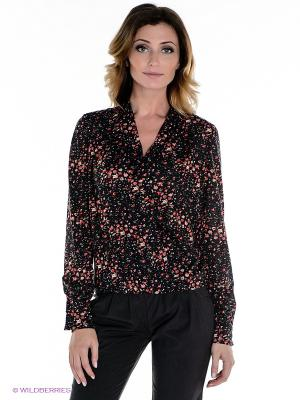 Блуза MELANY. Цвет: черный, красный, коралловый