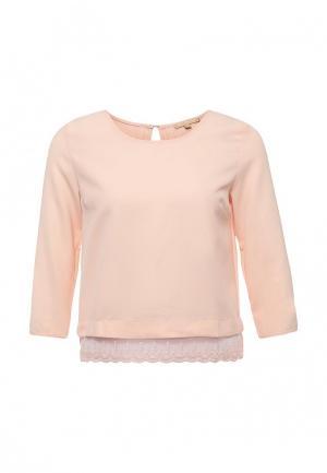 Блуза By Swan. Цвет: розовый