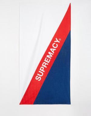 Supremacy Пляжное полотенце. Цвет: белый