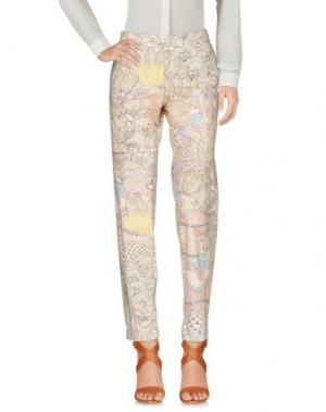 Повседневные брюки BARBARA BUI. Цвет: бежевый