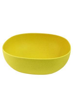 Салатник Федерация. Цвет: желтый
