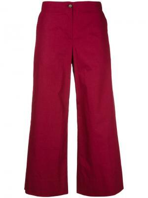 Укороченные брюки IM Isola Marras I'M. Цвет: красный