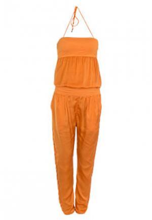Комбинезон PATRIZIA PEPE. Цвет: оранжевый