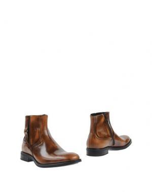 Полусапоги и высокие ботинки GIANFRANCO LATTANZI. Цвет: желто-коричневый